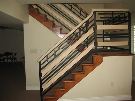 Banister Guards by Iron Guard Rail Baluster Metal And Iron Artistry Llc