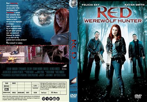 red werewolf hunter tv movie red werewolf hunter dvd cover 2010 r2 dutch custom