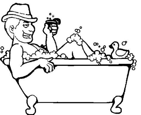 Bathroom by Badewanne Malvorlagen Malvorlagen1001 De
