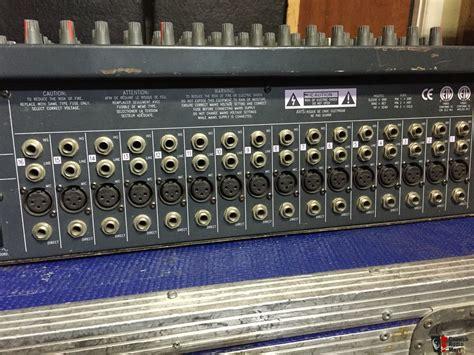 Mixer Lx7 soundcraft spirit lx7 24 channel xlr input mixer photo