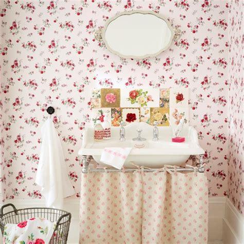 Bathroom Wallpaper Vintage Vintage Bathroom Country Bathroom Designs