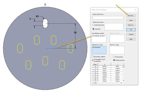 sketch driven pattern solidworks 2013 an overview of the different solidworks sketch patterns