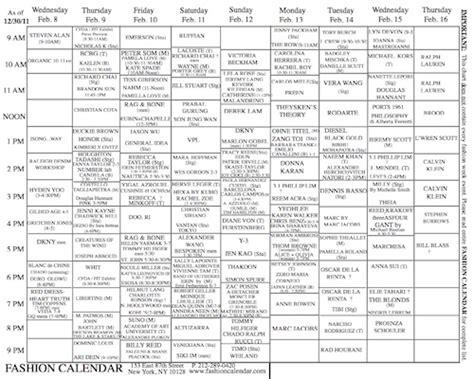 Fashion Calendar Redirecting To Http Www Businessoffashion Articles