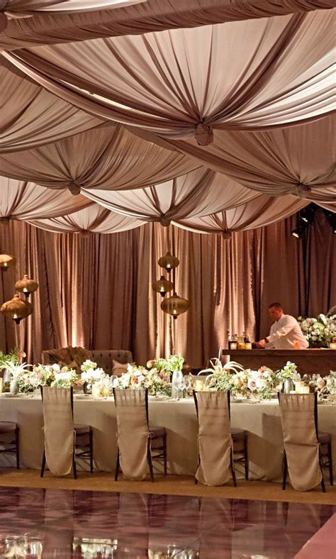 wedding reception draping best 70 ceiling draping images on pinterest other