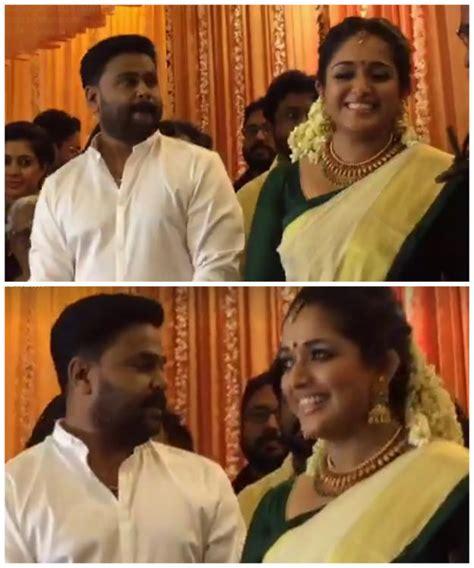 actor dileep news malayalam malayalam actor dileep gets married to actress kavya