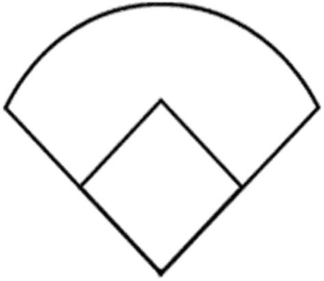 baseball position template printable baseball field diagram clipart best
