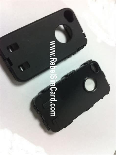 Silicone Playcard iphone 4 rebel demo rebel simcard