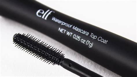 Waterproof Mascara Top Coat new e l f studio waterproof mascara top coat