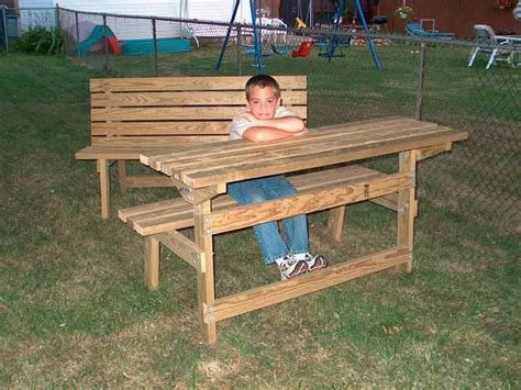 park bench table pdf diy picnic table park bench plans download pine