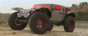 leno drives a supervillain jeep with 50 inch tires and
