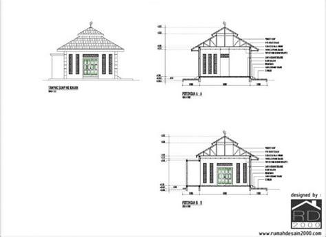 gambar desain mushola minimalis rumah desain
