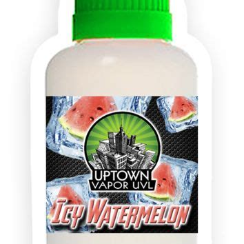 Icy Watermelon Semangka E Liquid Nic 3 E Juice Liquid Vapor 10mil wall mount color changing from