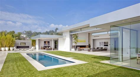 Modern 70 S Home Design | 70s home transformed into modern beverly hills masterpiece