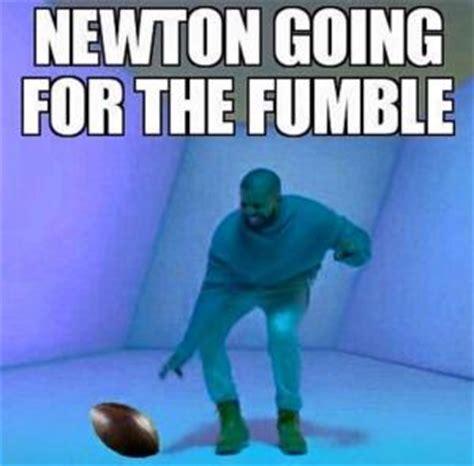 Fumble Meme - cam newton meme kappit