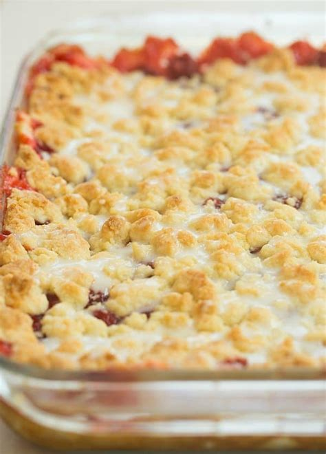 Crumbly Side Leek Cheese Crumble by Cheese Cherry Pie Crumb Bars Brown Eyed Baker