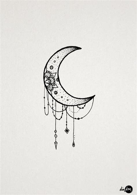 crescent moon tattoo design 64 beautiful crescent moon tattoos with meaning