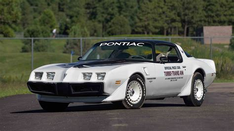 pontiac trans am turbo 1980 pontiac turbo trans am pace car edition w31