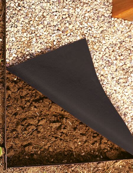 weed barrier pro  mulch  crushed stone gardeners