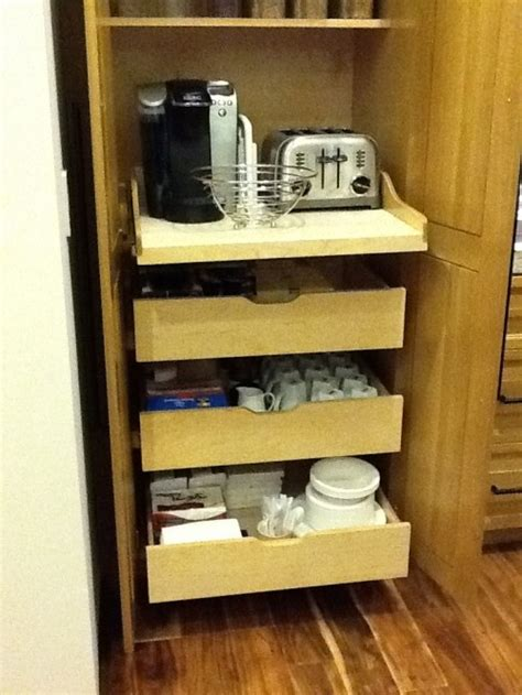 small kitchen appliance storage the pullout small appliance storage kitchen