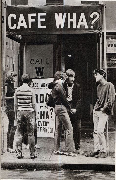 color cafe greenwich cafe wha macdougal greenwich ny 1960s
