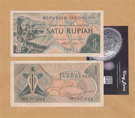 Uang Kuno 2 5 Rupiah Tahun 1961 jual uang kuno 1 rupiah 1961 uang lama