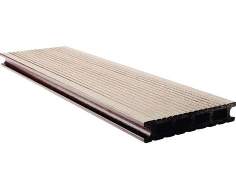 terrasse vergrößern planche pour terrasse konsta wpc brun bross 233 145x25 mm