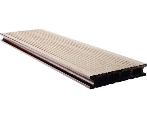 planche pour terrasse konsta wpc brun bross 233 145x25 mm