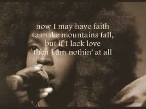 lauryn hill zion lyrics meaning lauryn hill tell him with lyrics on screen youtube