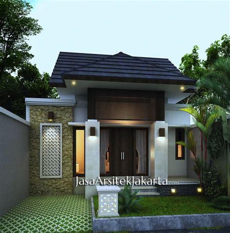 desain rumah luas tanah 60 m2 rumah pak adi luas 80 m2 jasa arsitek jakarta