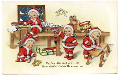 postcard advert puffin book cover stuart little e b white ebay vintage christmas image cute baby santas the graphics fairy