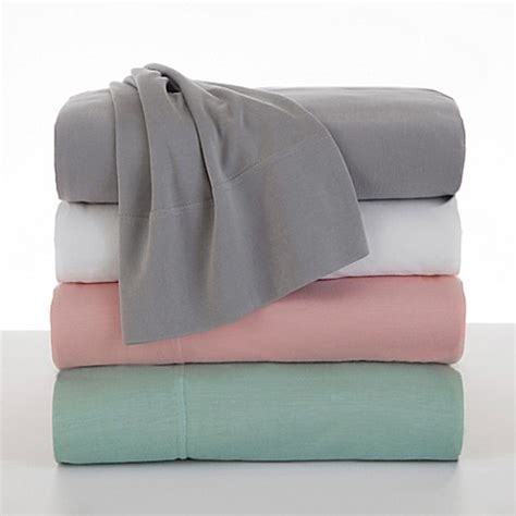bed bath and beyond jersey sheets martex bare necessities modal jersey sheet set bed bath