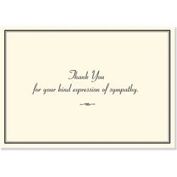 sympathy thank you notes stationery note cards pauper press 8601406697829