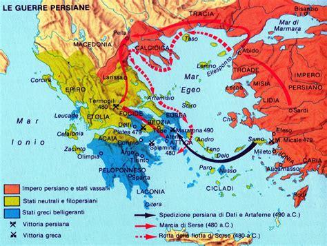 guerra persiana grecia guerre persiane la storia viva archeologia