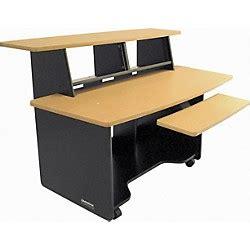 Studio Desks Tables Workstations Guitar Center Studio Trends 30 Desk Cherry