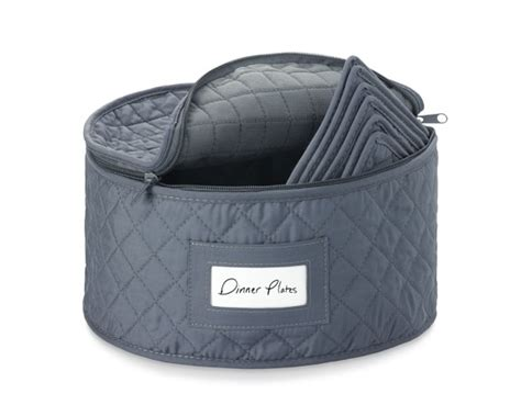 Quilted Plate Storage by Quilted China Storage Cases Williams Sonoma