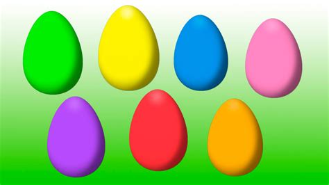 what are easter colors animated easter eggs for learning colors part iv