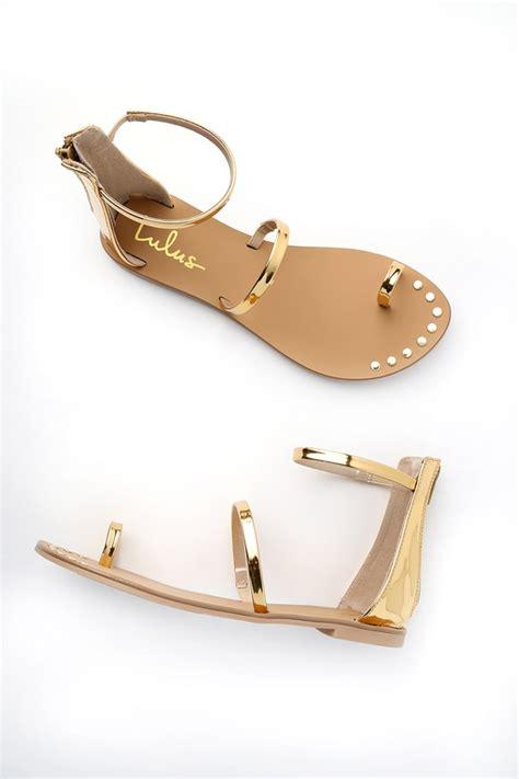 Sandal Santai Flat Wanita Berkualitas gold sandals flat sandals ankle sandals 20 00