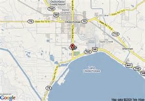 map of best western lake okeechobee okeechobee