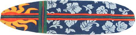 surf rug surfboard navy rug