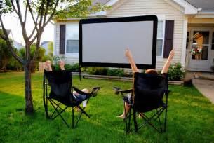 backyard outdoor home theater omgcoolgadgets com