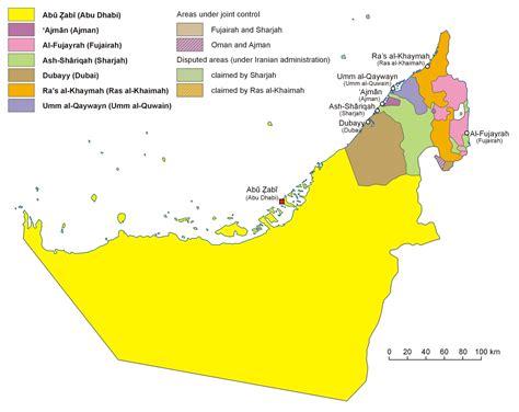 map of dubai country united arab emirates country map united arab emirates