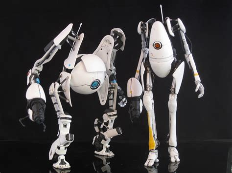 figure portal these custom portal 2 figures came from testing