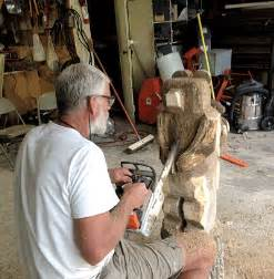 wood carvings   conservation club  waynedale news
