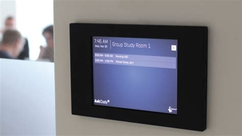 room signs conference room digital signage