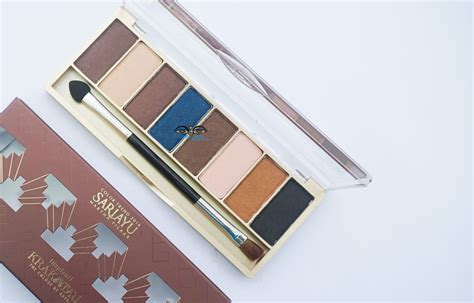 Sariayu Eyeshadow Palette Review review palette eyeshadow sariayu best eyeshadow 2017
