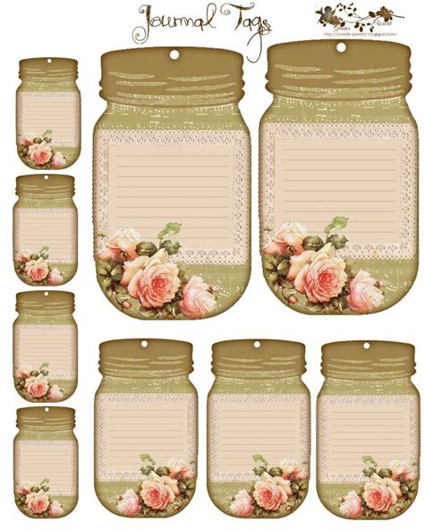 jar tags template 25 best ideas about vintage tags on