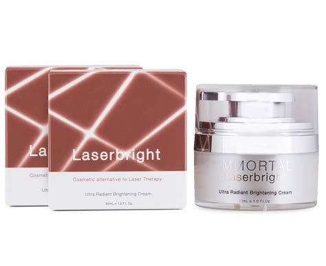 Immortal Cc Ream Ivory 2 x immortal laserbright brightening 30ml great daily deals at australia s favourite
