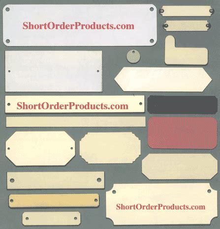 Handmade Nameplates - custom name plates many sizes shapes available