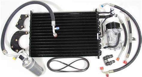 91 Mustang Auto To Manual Swap by Mustang Air Conditioner A C Conversion Kit R 12 R 134