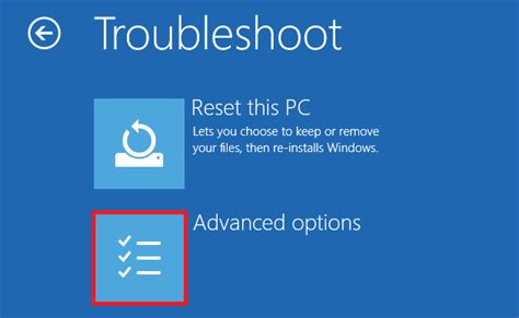 windows resetting pc stuck access uefi bios system setup from windows on your dell